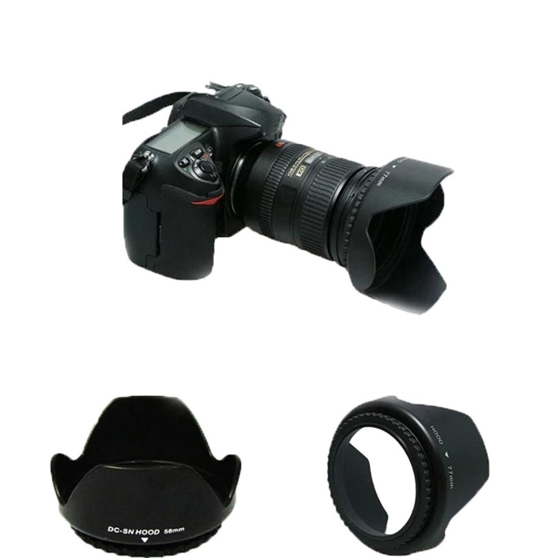 Bayonet Shade Flower Lens Hood for Nikon HB-69 AF-S DX NIKKOR 18-55mm f 3.5-5.6G VR II D3200 D5200