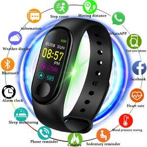 Мужские и женские Смарт-часы M3X, спортивные часы с монитором сердечного ритма и кровяного давления, M3, 2019