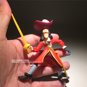 Image 4 - 2 יחידות\חבילה 9 cm שקע ארץ לעולם לא פיראטים נוורלנד פיטר פאן פעולה איור צעצועי אוסף צעצוע