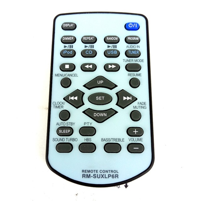 New Original FOR JVC Remote Control RM SUXLP6R RMSUXLP6R for UX LP6  MINI HI FI System Fernbedienung