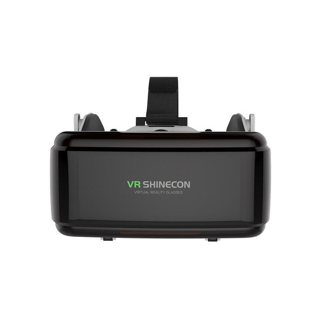 VR Shinecon G06E Casque Helmet 3D Glasses Virtual Reality Lens For Smartphone Smart Phone Google Cardboard Headset Goggles 3 D 1
