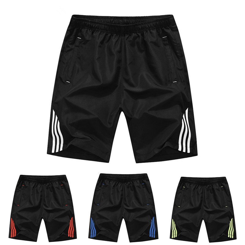 PLUS SIZE S-8XL Outdoor Sports Shorts Quick Drying Breathable Drawstring Elastic Waist Casual Shorts Men
