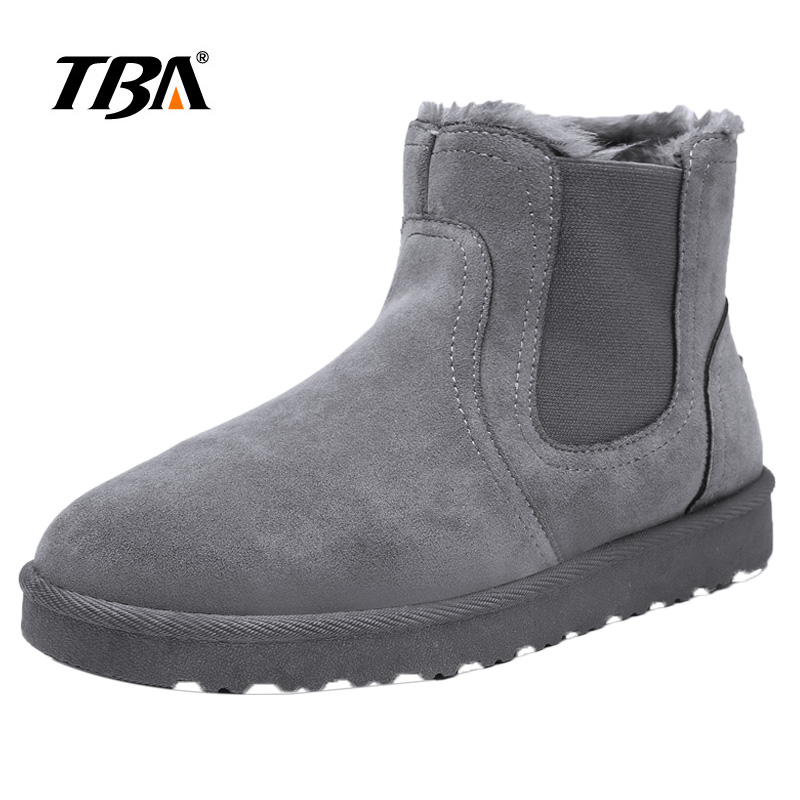 2019 New Hot Fashion Snow Shoes Men Ankle Boots for Male Winter Shoes High Brown Ug Boots Australia Botas Mujer Size 35 44