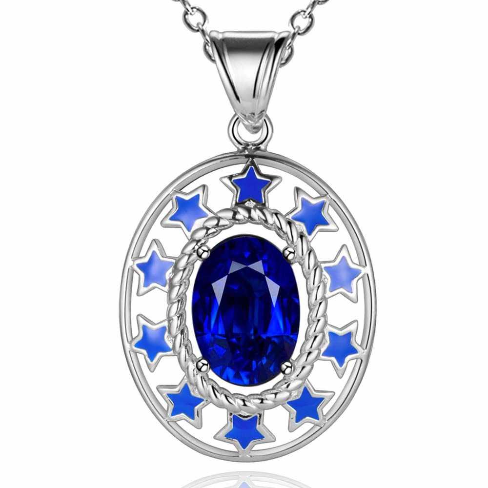Hurtownie darmowa wysyłka srebrny moda biżuteria naszyjnik łańcuszkowy wisiorek WN-1703
