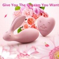 USB Lading Konijn clitoris Stimulator Draadloze Controle Onzichtbare Riem Op Vibrator Liefde Ei Dual Sterke Power Speeltjes Voor Vrouw