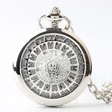 Kuroshitsuji Контракт знак карманные часы коллекция сплава механические часы мужчин и женщин смотреть аниме