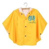 Waterproof Womens Raincoat Kids For Girls With Hood Awning Regenmantel Acloak Rain Children Poncho Kids Raincoat