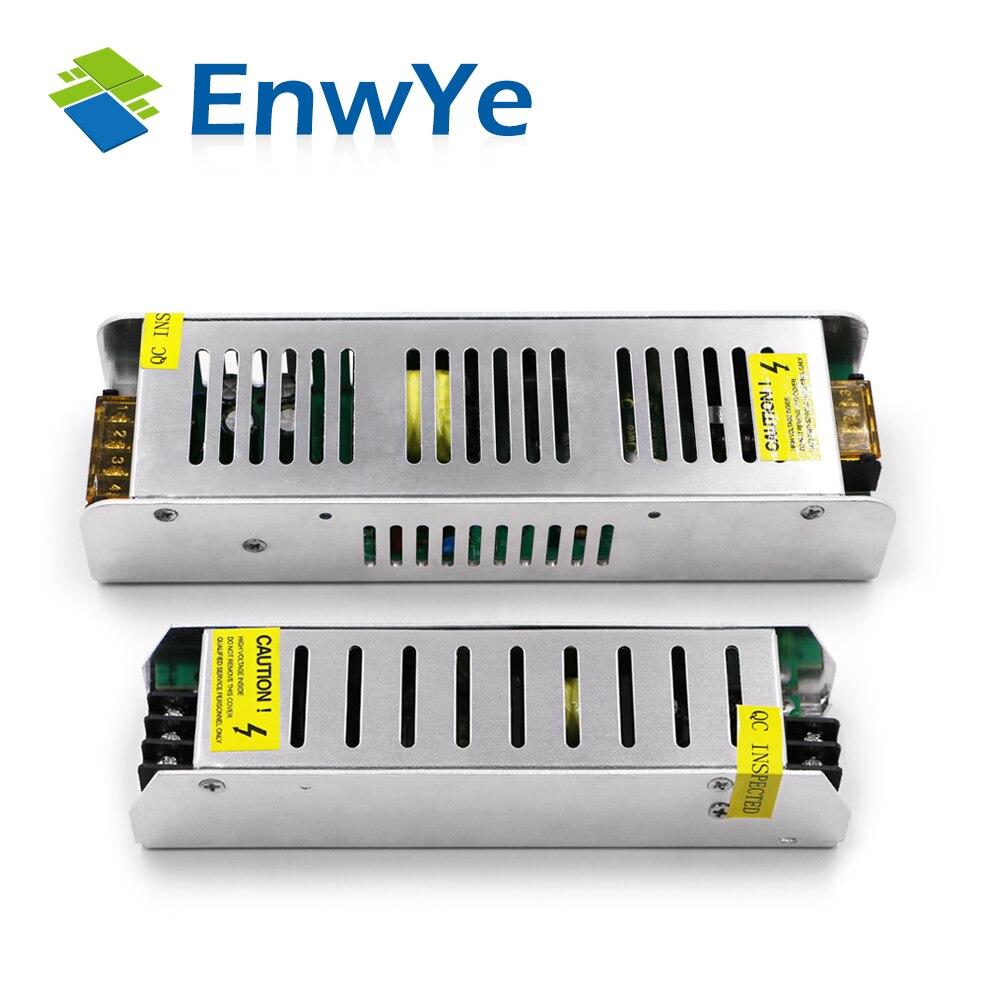 EnwYe DC12V 1A 2A 3A 5A 10A 17.5A 30A iluminação Interruptor de Alimentação LED Driver Adaptador de Alimentação Para LED Strip luz fornecer