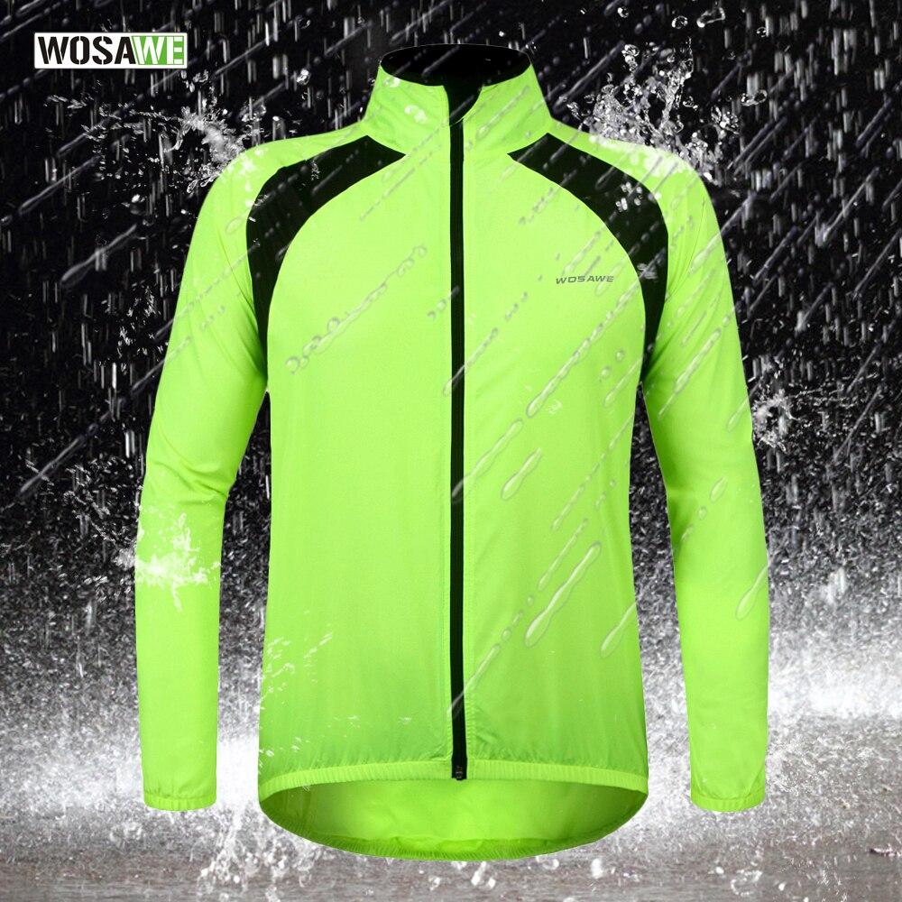 WOSAWE Bike Bicycle Cycling Cycle water repellent Rain Coat Raincoat Wind Coat Windcoat Jersey Jacket High Quality