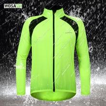 Ciclism nou impermeabil pentru ploaie Coat Bike Bicicletă Windproof Jacket Cycle Jersey verde