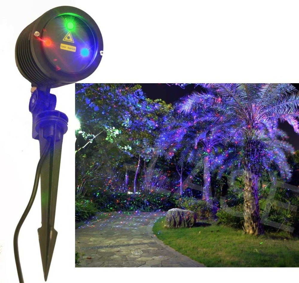 Aliexpress.com : Buy RGB 3 Color Laser Landscape Projector Light ...