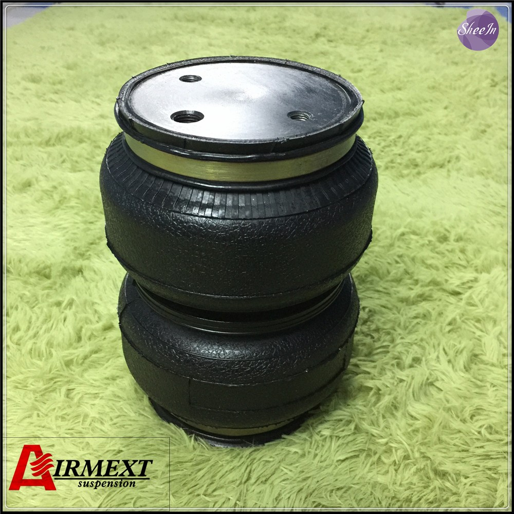 SN142187BL2 C cross Airlift 5813 hollow Double convolut rubber airspring airbag shock absorber pneumatic part air