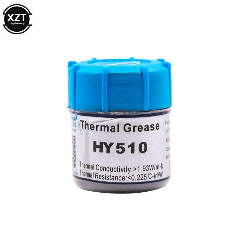 HY510 25G Grey Silicone Senyawa Pasta Termal Konduktif Grease Heatsink untuk CPU GPU Chipset Notebook Pendingin dengan Scraper
