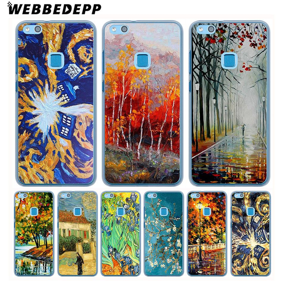 Half-wrapped Case Diligent Webbedepp Selling Doctor Who Van Gogh Tardis Phone Case For Huawei Nova 3i 2i Mate 20 10 Lite Pro Y7 Y6 Y5 2017 Ii Cover Various Styles
