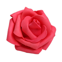 Wholesale 5* 100PCS Foam Rose Flower Bud Wedding Party Decorations Artificial Flower Diy Craft Red