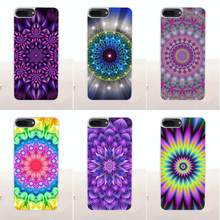 Flor colorida Telefone Coque Mandala Macio Para LG G2 G3 G4 G5 G6 G7 K4 K7 K8 K10 K12 K40 mini Mais Stylus ThinQ 2016 2017 2018(China)