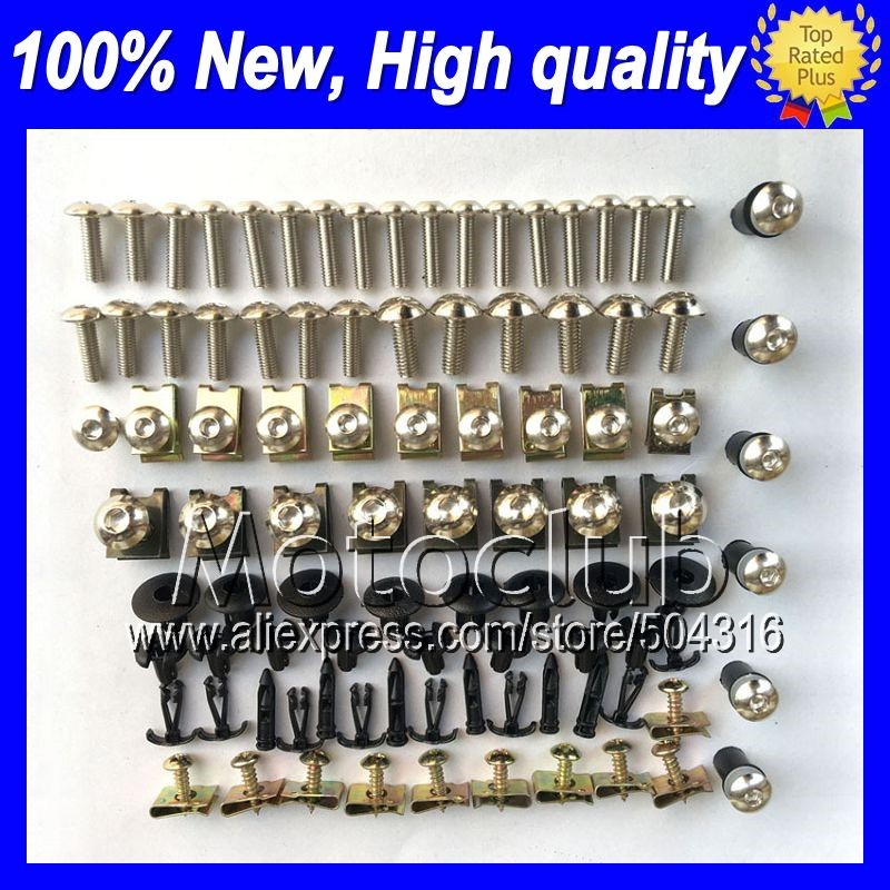 Fairing bolts full screw kit For HONDA CBR919RR 98 99 CBR900RR CBR 919 RR 919RR CBR919 RR 1998 1999 Windscreen bolt screws Nuts