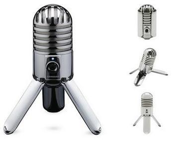 Oryginalny Samson Meteor Mic nagrywania studyjnego mikrofon kondensujący składana noga z kablem USB torba do przenoszenia na komputer tanie i dobre opinie Mikrofon pojemnościowy Mikrofon komputerowy Pojedyncze Mikrofon Mikrofon ręczny Przewodowy