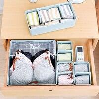 EVERYFIT Drawer Organizers Drawer underwear storage box Separate underwear storage box Desktop divider bra socks storage box