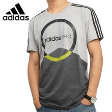 Original New Arrival 2017 Adidas NEO Label M CS GRAPHIC Men's T-shirts short sleeve Sportswear