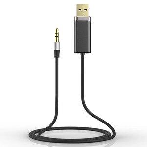 Image 2 - Bluedio BL Bluetooth receptor de audio y música 3,5mm audio estéreo Cable adaptador Bluetooth para altavoz auriculares