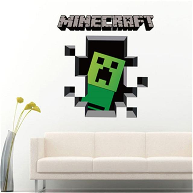 Online Shop D Minecraft Wall Stickers For Kids Room Wallpaper Home - Minecraft enderman spiele