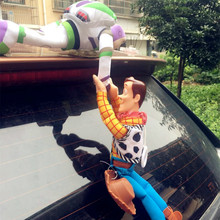 Lovely Toy Story Sherif Woody Car Doll Plush Toys Outside Hang Toy Cute Auto Accessories Car Decoration Toy Christmas Gift