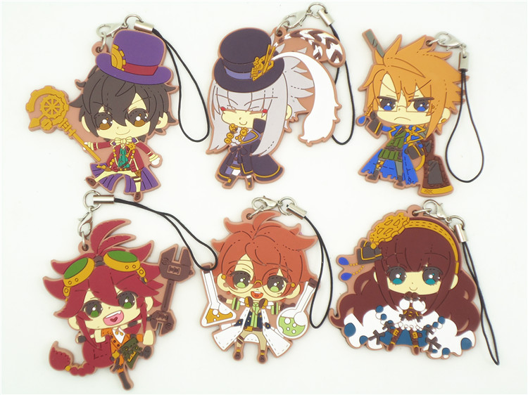 Code Realize Anime Victor Frankenstain Saint-Germain Impey Barbicane Cardia Beckford Abraham Van Japanese Rubber Keychain блесна forest realize