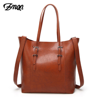 ZMQN Large Famous Designer Brand Bags Women Leather Handbags High Capacity Vintage Crossbody Tote Hand Bags