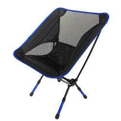 Ultralight kemping krzesła wędkarskie  grill na świeżym powietrzu przenośne  składane krzesło składane krzesło na plażę stołek w Krzesła plażowe od Meble na