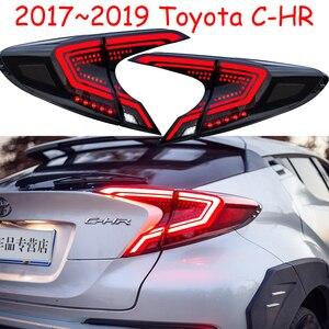 Image 2 - Pare chocs feu arrière pour 2017 2018 2019 année Toyota CHR C HR C HR feu arrière feu arrière DRL + frein + parc + feux de signalisation accessoires de voiture