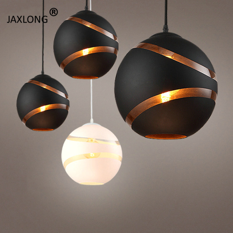 Moderne nordique Globe rétro boule bulle pendentif lumières café Bar magasin Restaurant salle à manger Hall Club pendentif suspension lampe décor|Lampes à suspension| |  -