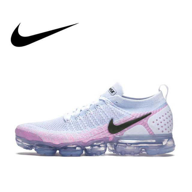 Original Authentic NIKE AIR VAPORMAX FLYKNIT 2 Women's Running Shoes Sport Outdoor Sneakers Athletic Designer Footwear 2019 New