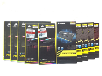 CORSAIR 16GB 2X 8GB  Dual-channel DDR4 RGB PRO 3600MHz DIMM Desktop Memory Support Motherboard Ddr4 3000 3200 MHZ