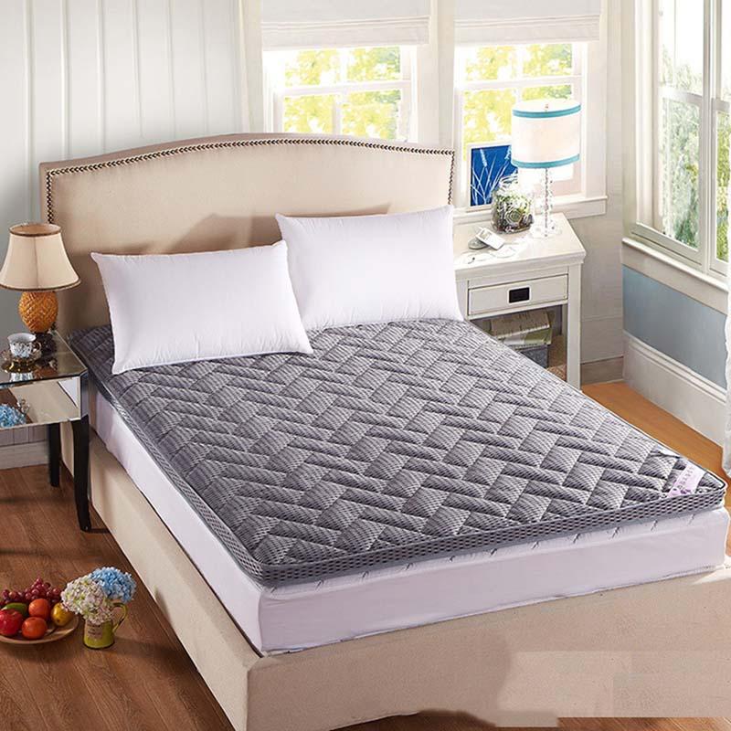 Chpermore épaississement Tatami matelas pli dortoir lit étudiant matelas couverture famille couvre-lits King Queen Twin pleine taille