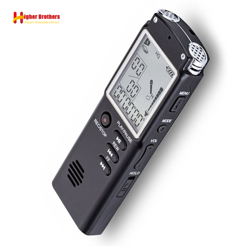 T60 8G/16G/32G Voice Recorder USB Professional 96 Hours Dictaphone Digital Audio Voice Recorder With WAV,MP3 Player arduino wav player 22 1khz voice play sound broadcast module compatible with rpi stm32