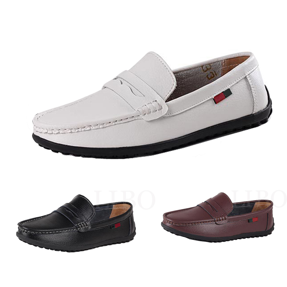 Spring new driving soft mens fashion pachwork slip-on casual leather shoes breathable sew soft loafers black white brown vesonal 2017 top quality lycra outdoor ultralight slip on loafers men shoes fashion stripe mens shoes casual sd7005