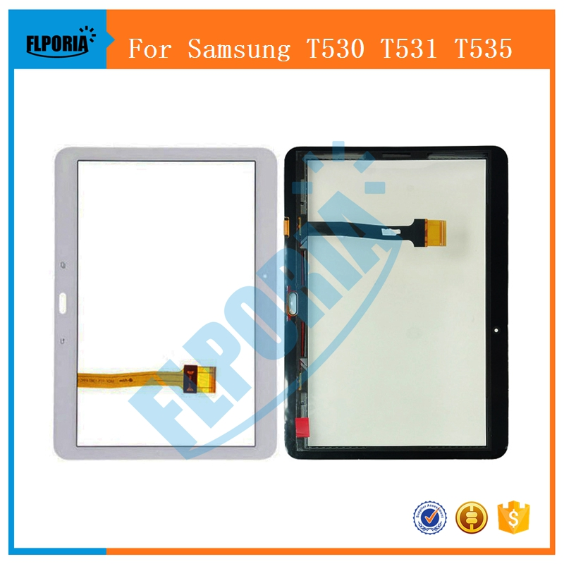 Touch Screen For Samsung Galaxy Tab 4 10.1 T530 T531 T535 Digitizer Panel Replacement Front Outer Glass T530 T531 T535 Screen t530 lcd touch panel for samsung galaxy tab 4 10 1 t530 t531 t535 lcd display touch screen digitizer glass assembly