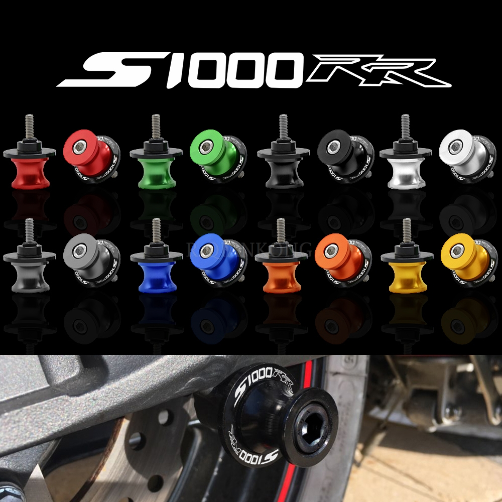 Motorcycle <font><b>Accessories</b></font> Swingarm Sliders Spools 6MM 8MM 10MM Stand Screws slider for <font><b>BMW</b></font> S1000RR S1000 <font><b>RR</b></font> <font><b>S</b></font> 1000RR <font><b>S</b></font> <font><b>1000</b></font> <font><b>RR</b></font> 2015 image