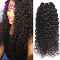 Peruvian Deep Wave Peruvian Virgin Hair Curly Wave 3pcs Lot  Peruvian Kinky Curly Hair Rosa Hair Company Pervian Curly 1B 8-30IN