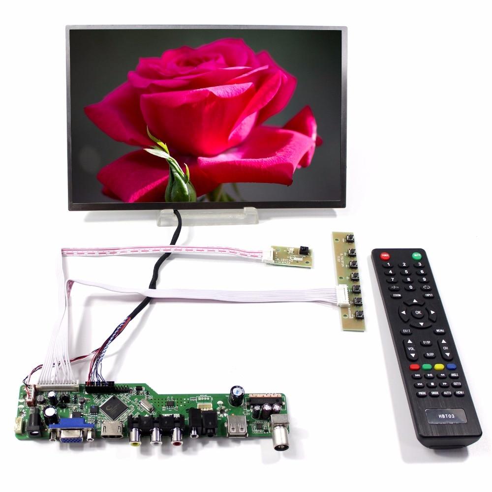 TV/HDMI/VGA/AV/USB/AUDIO LCD controller Board+10.1inch B101EW05 1280*800 lcd HSD101PWW1 hdmi vga av audio usb fpv control board 13 3inch 1280 800 b133we04 lp133wx2 lcd screen model lcd for raspberry pi