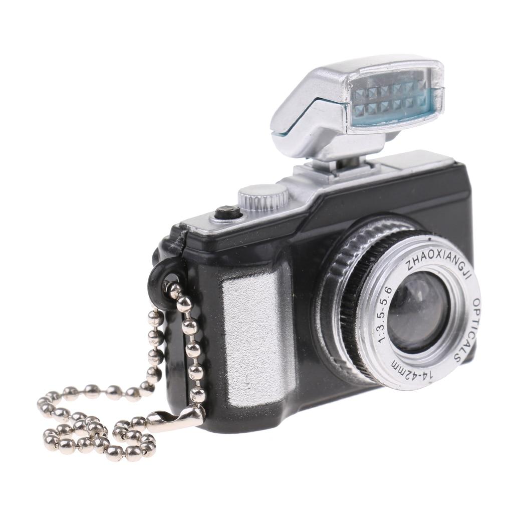 Vintage Metal Camera Black 1:12 Dollhouse Figure Miniature Accessory  Decor Gift