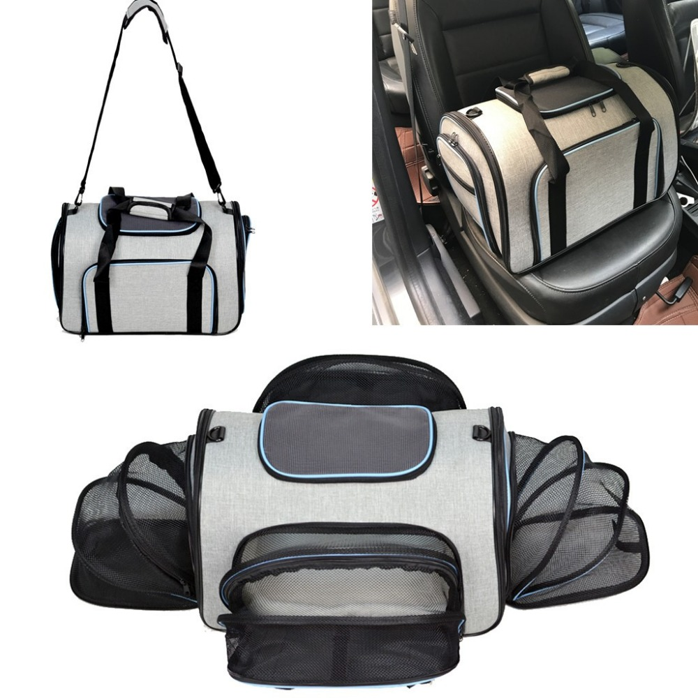 ETHIN Pet carriers four sides expanded dog bag Puppy car travel bag dog carriers pet cat bag slings tote for small animalsETHIN Pet carriers four sides expanded dog bag Puppy car travel bag dog carriers pet cat bag slings tote for small animals