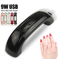 LKE 9W LED Nail Lamp USB Nail Dryer with 3 LED for Nail Gel Polish Curing Nails UV Lamp Dryers Nail Art Tools