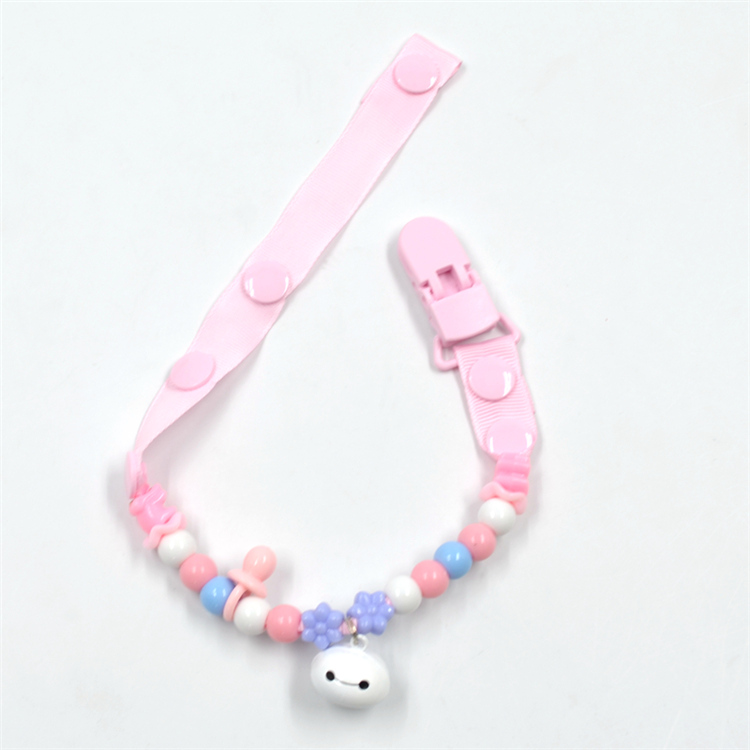 1Pc Newborn baby pacifier clips chain strap soother dummy nipple holder CRIT