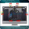 """ORI NOVA 076-1416 076-1422 076-1437 para A Apple iMac A1418 21.5 """"Tela de LCD Adesivos Tiras de Fita Adesiva Cola kit 2012-2015 Anos"""