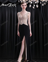 Floor Length Full Manual Gauzy Sexy Star Full Dress Evening Dress Cocktail Dress Night Entertainment Venue