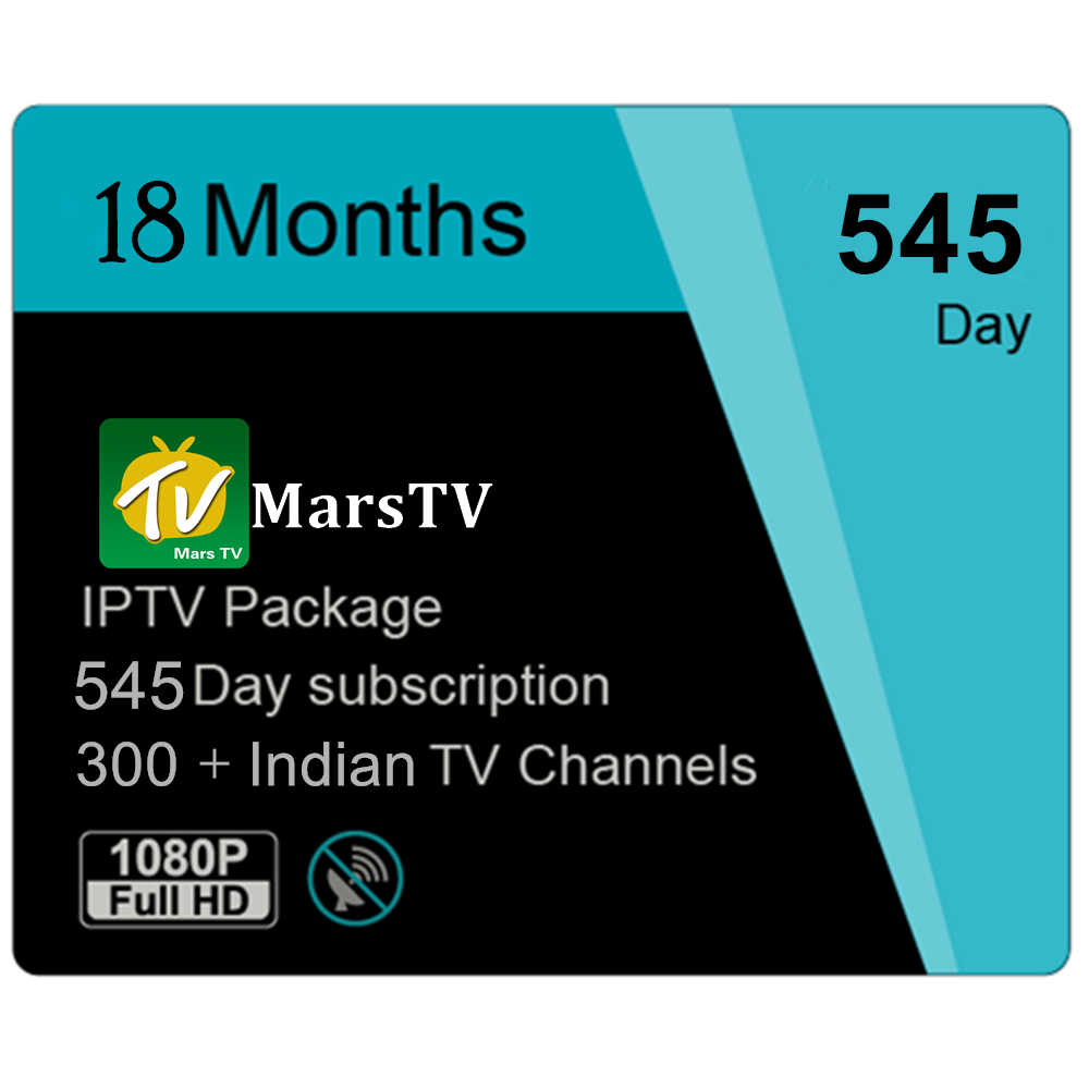 Smart Android TV Box Support 12 Months IPTV Subscription of