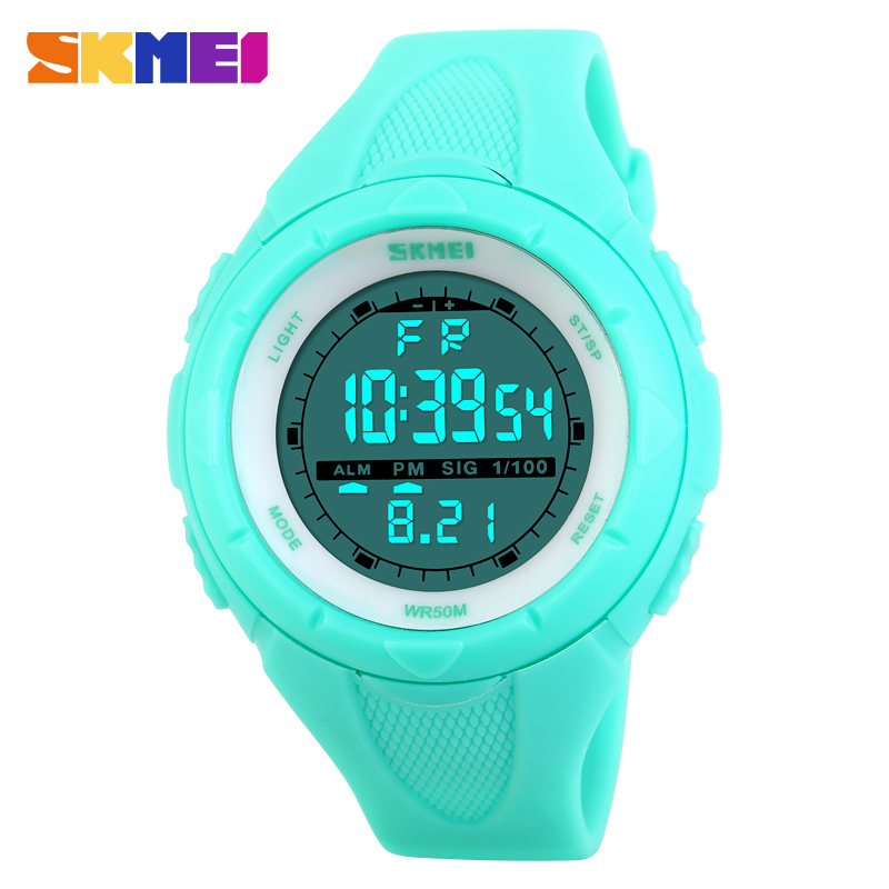 SKMEI Women Sports Watches Outdoor Sport Waterproof LED Kids Watch Military Multifunction Boy Girl Wristwatch montre femmeSKMEI Women Sports Watches Outdoor Sport Waterproof LED Kids Watch Military Multifunction Boy Girl Wristwatch montre femme