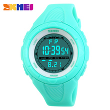 SKMEI Women Sports Watches Outdoor Sport Waterproof LED Kids Watch Military Multifunction Boy Girl Wristwatch montre femme